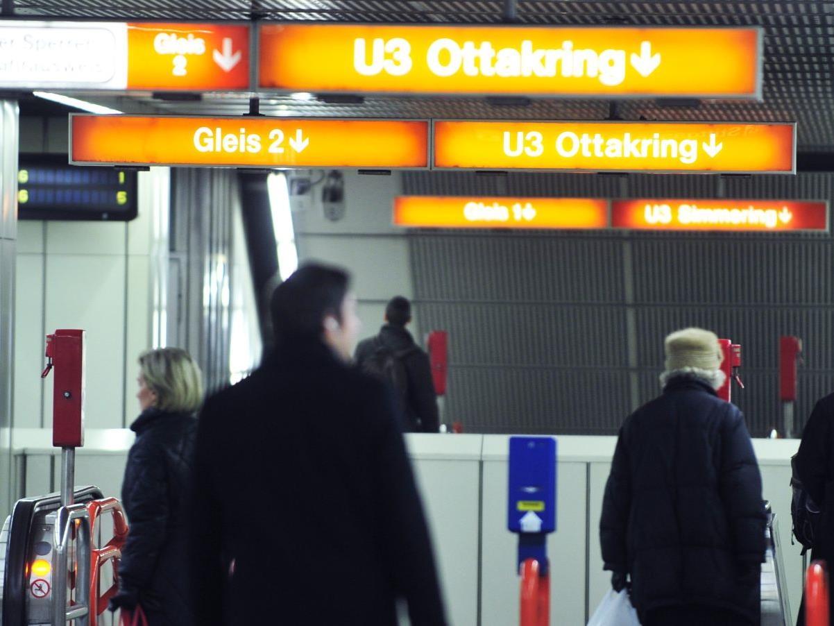 In der U-Bahn-Station Neubaugasse wurde eine Frau sexuell genötigt.