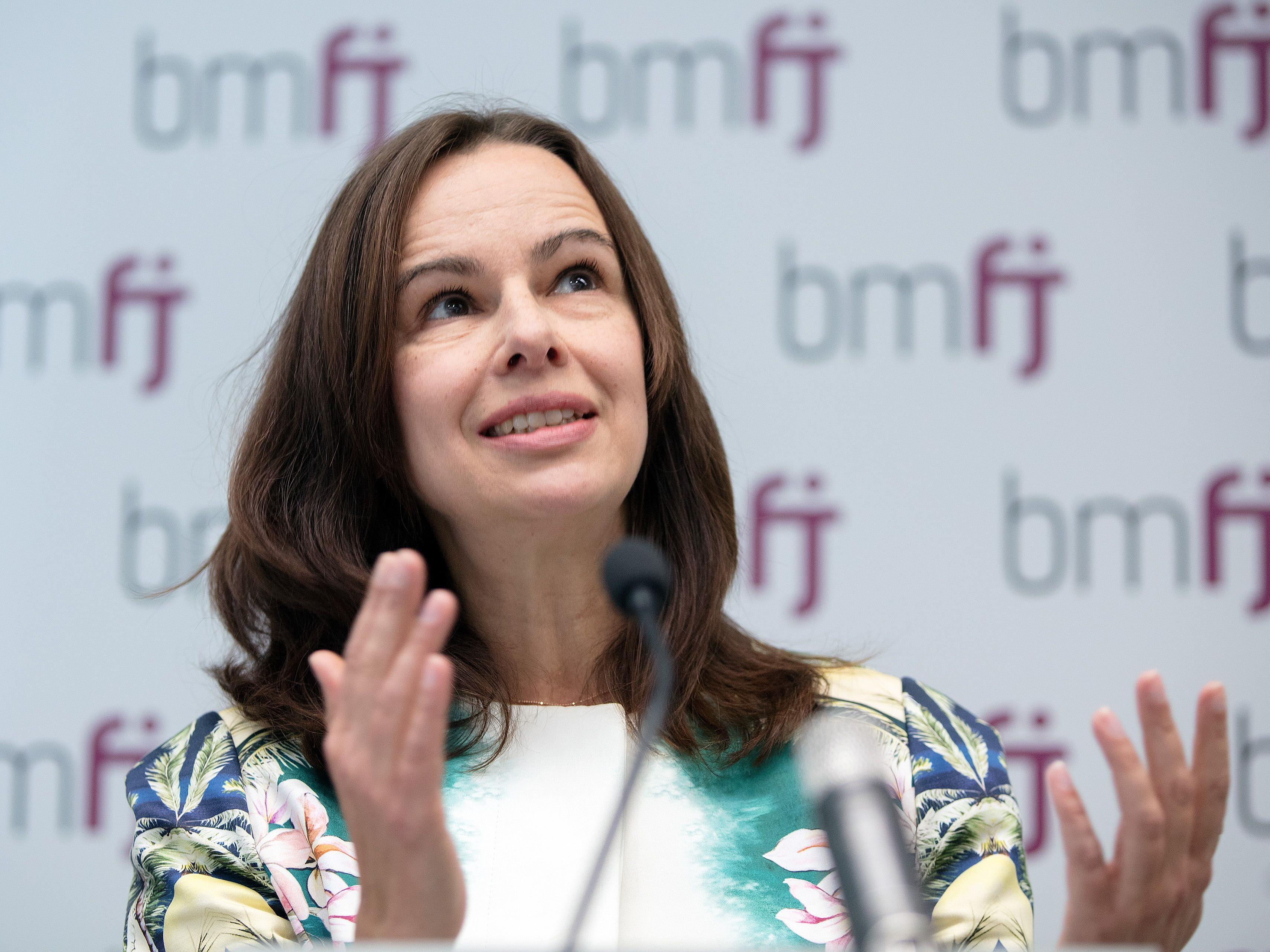 Ministerin Sophie Karmasin wird die Politik nach der Wahl verlassen.