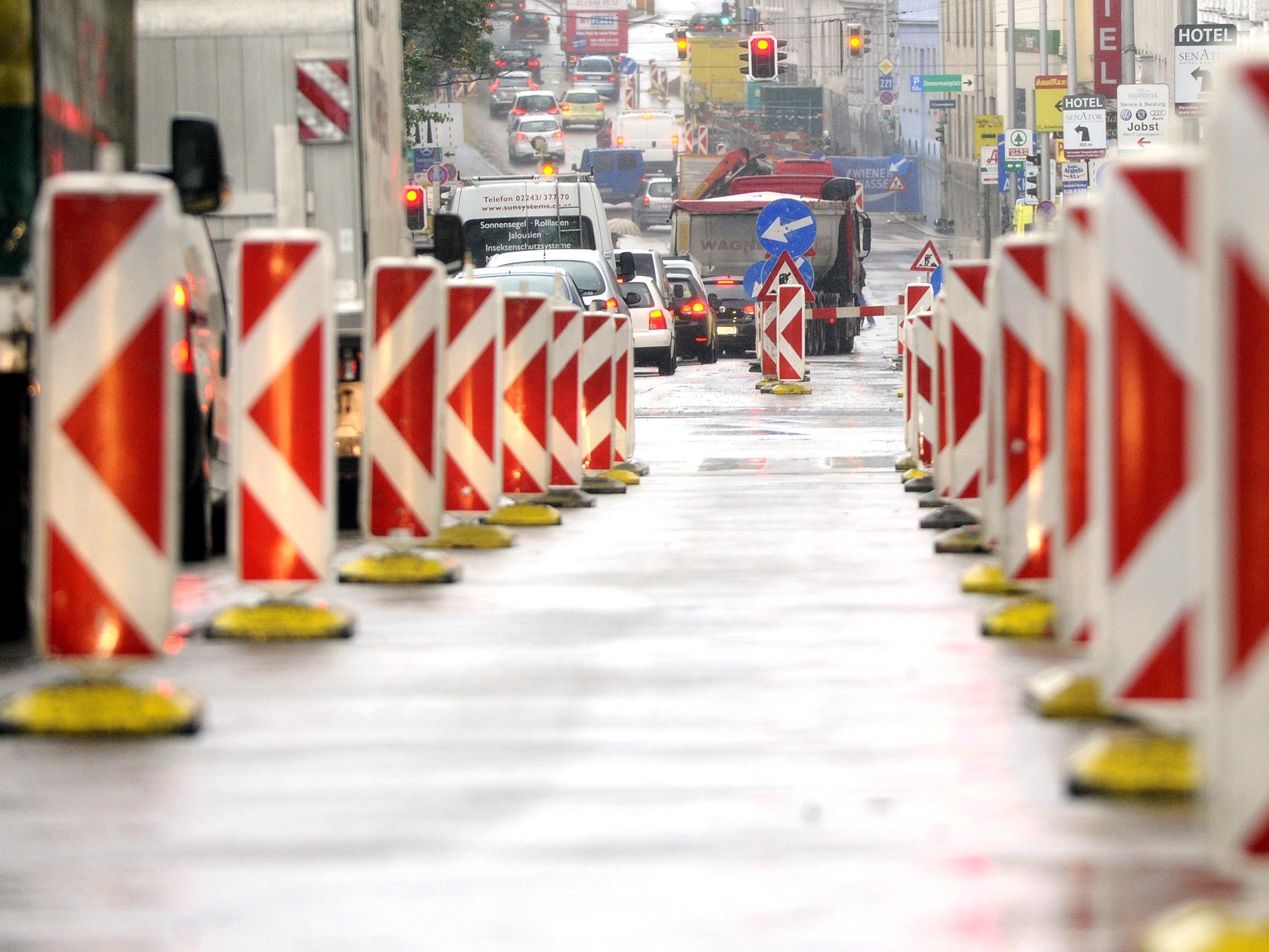Am verlängerten Wochenende wird es zu Einschränkungen beim Verkehr in Wien kommen