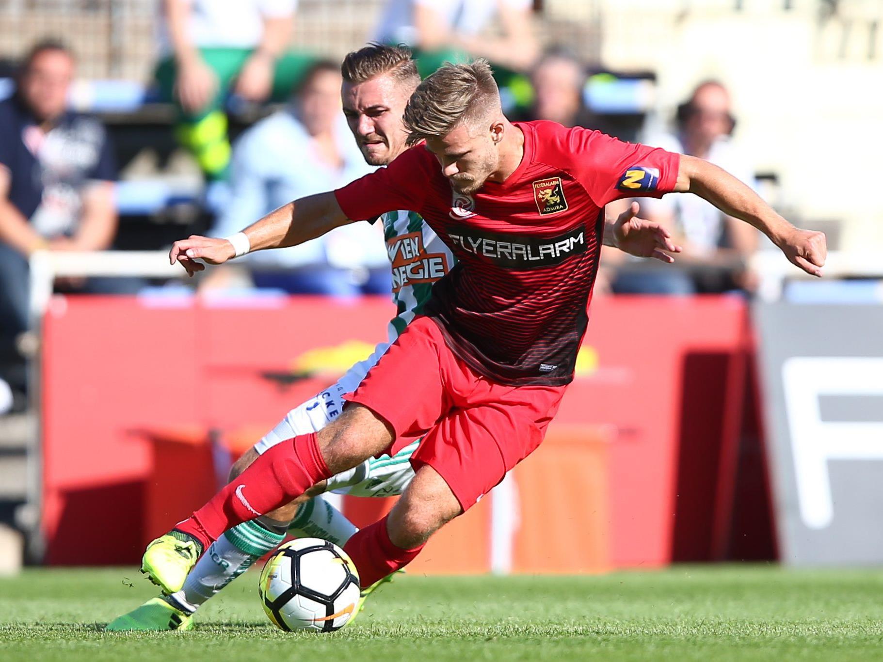 Admira Wacker besiegte Rapid Wien mit 3:1.