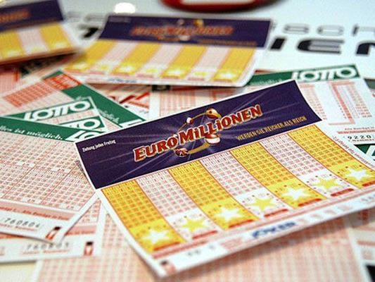 Jackpot bei den Euromillionen.