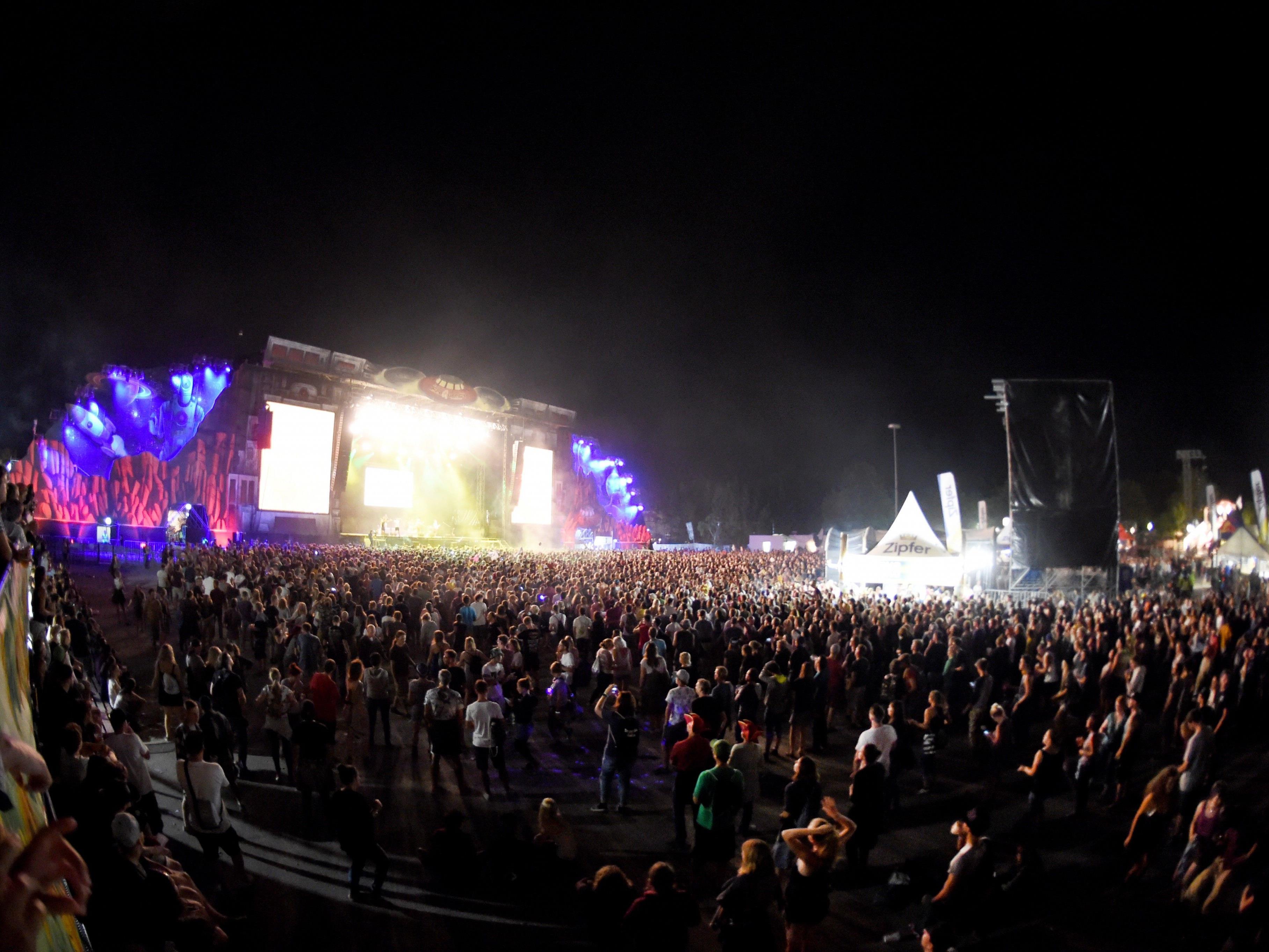 200.000 Besucher werden beim Frequency 2017 erwartet - mit Staus um das Festival muss gerechnet werden.