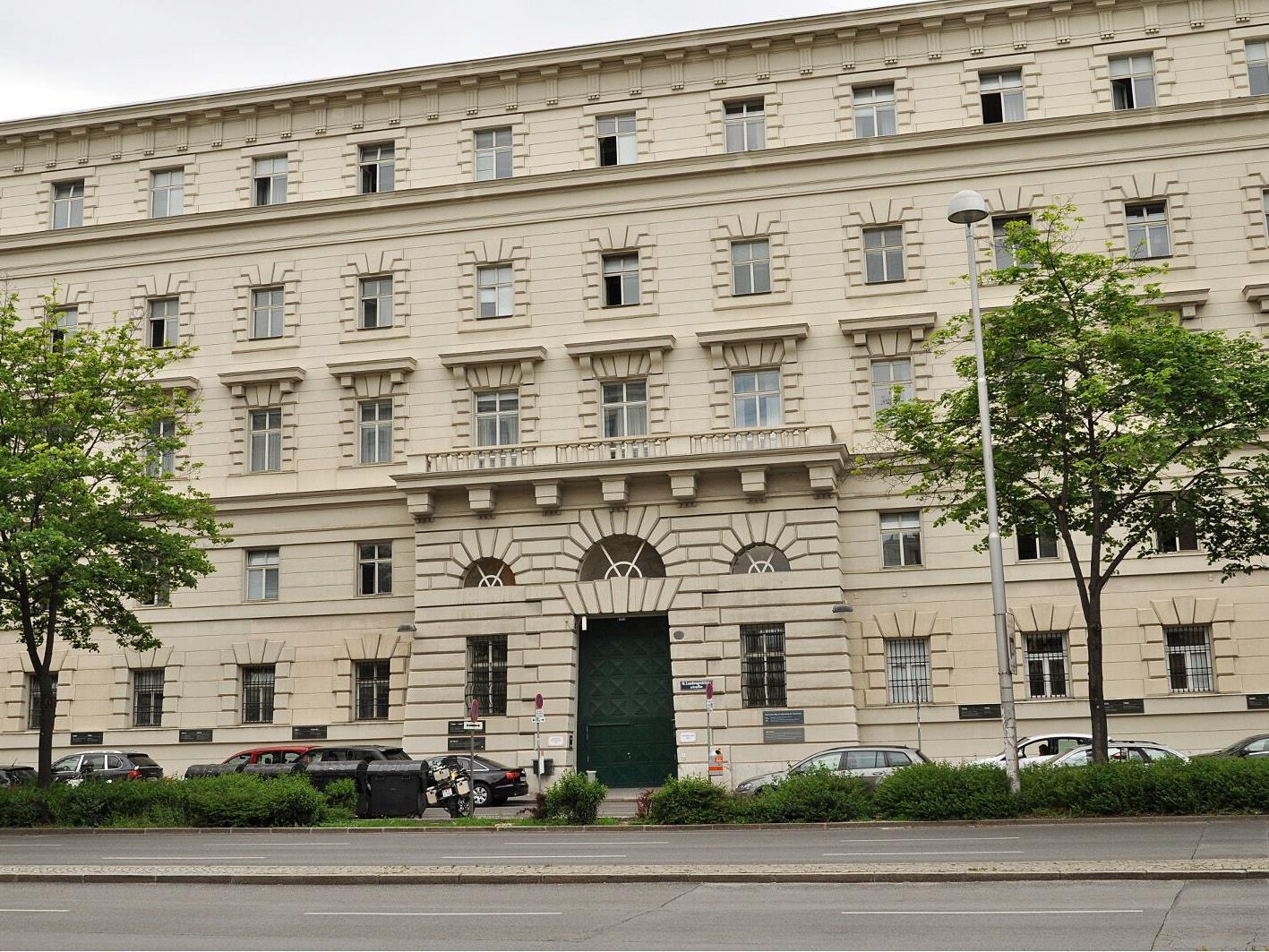 Der angeklagte Afghane steht in Wien vor Gericht.