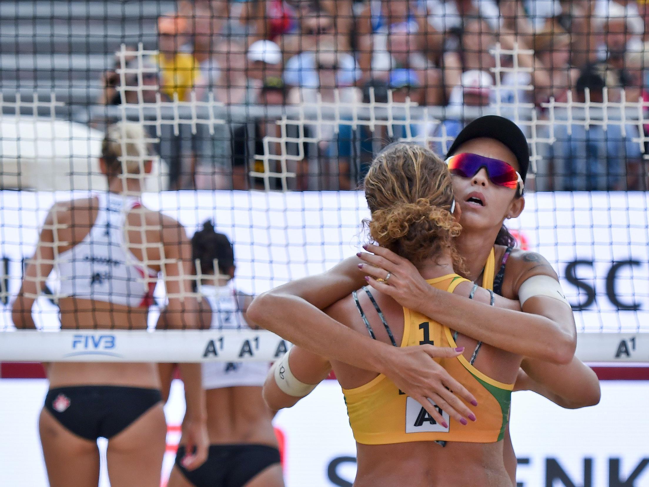 Larissa/Talita holten bei der Beach-WM Bronze für Brasilien