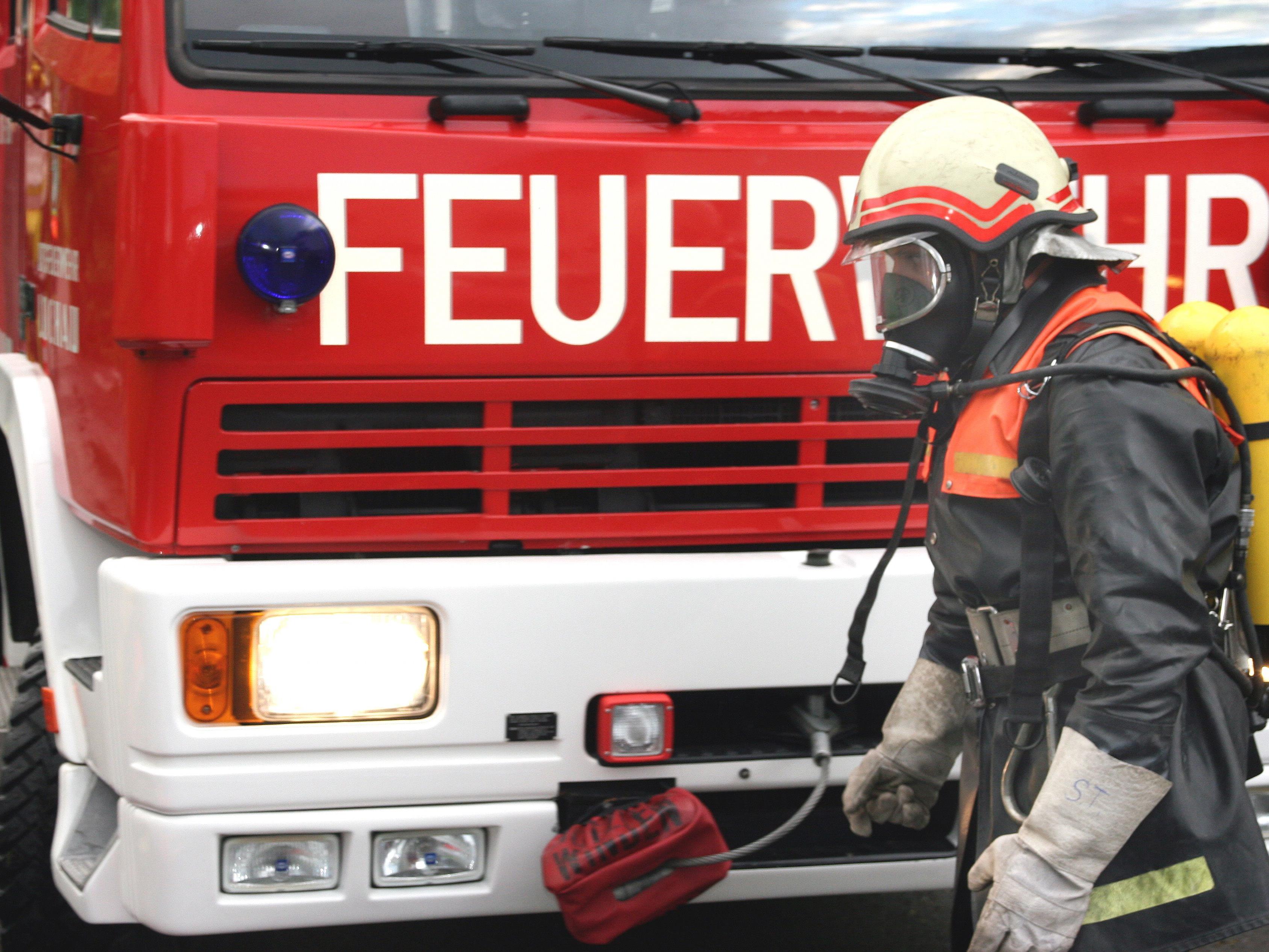 Die Feuerwehr war nach den Unwettern in Österreich im Dauereinsatz