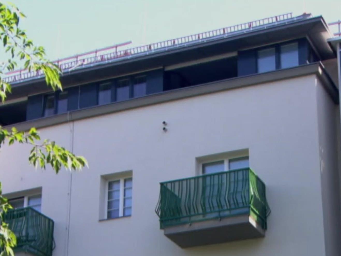 Die erste Dachgeschoßwohnung im Goetehof in Wien wurde übergeben,
