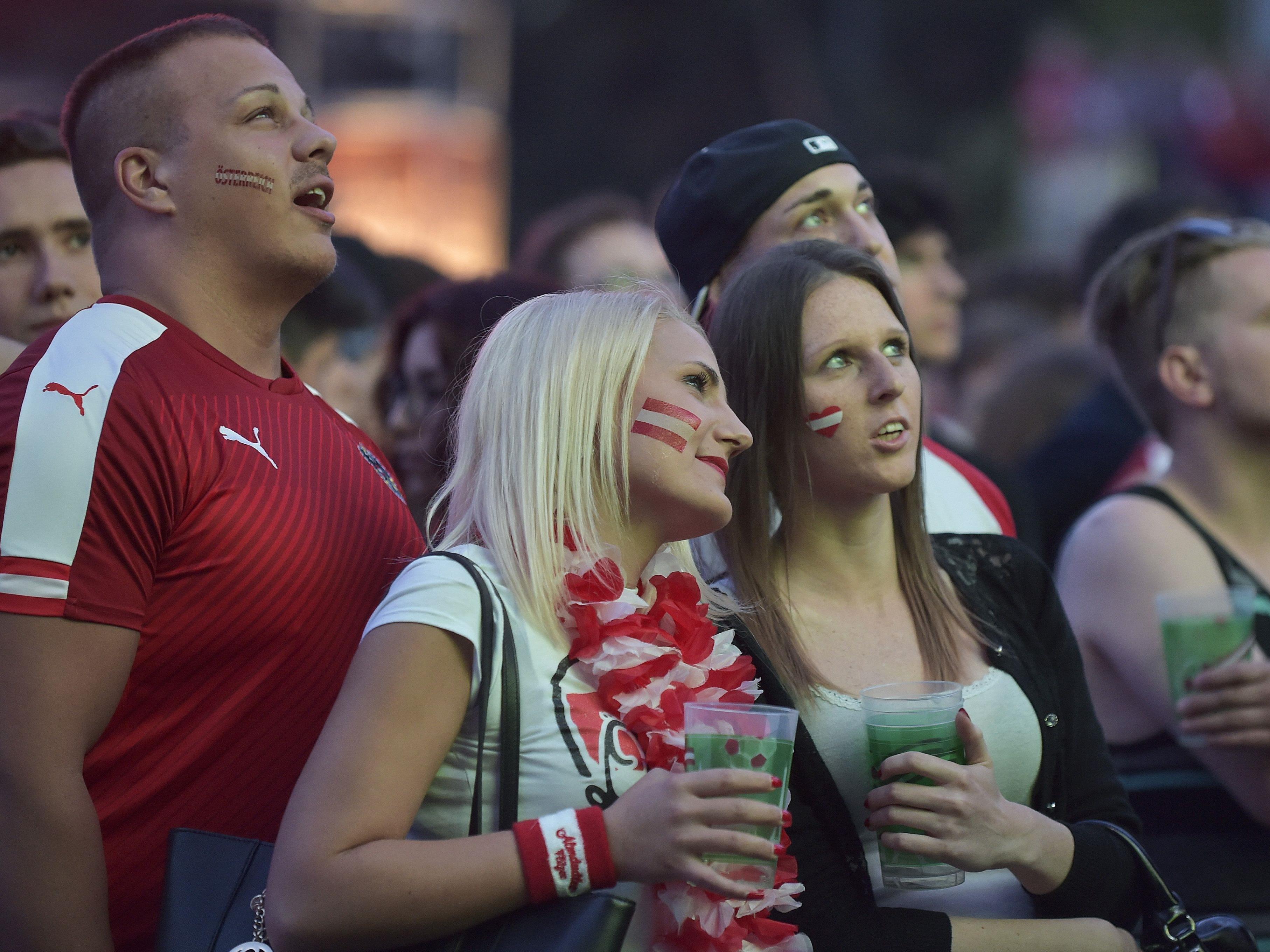 Das Frauen-Em-Halbfinale wird in Wien als Public Viewing gezeigt.