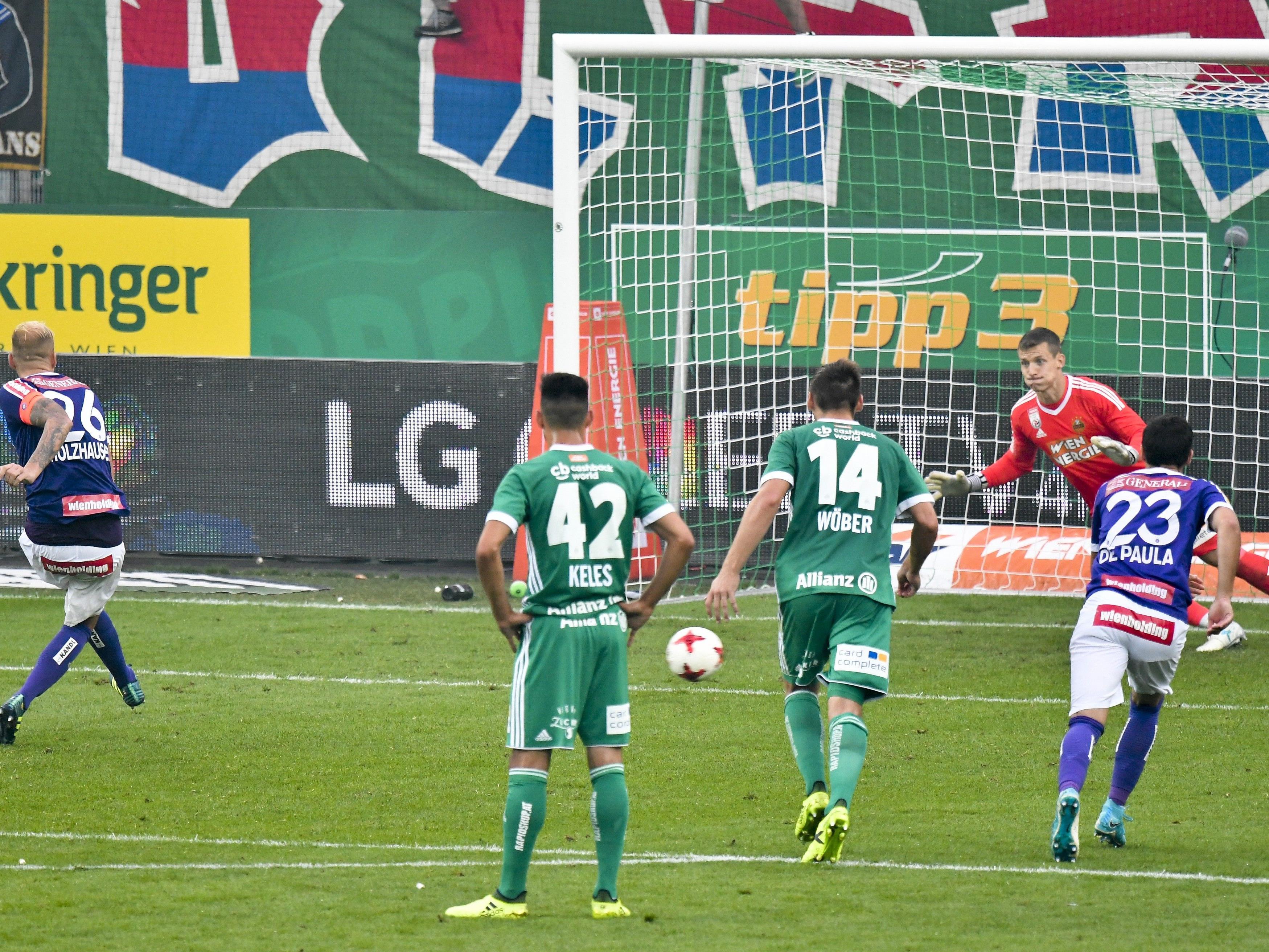 Die Bundesliga leitete nach den Vorkomnissen beim Wiener Derby ein Verfahren ein.