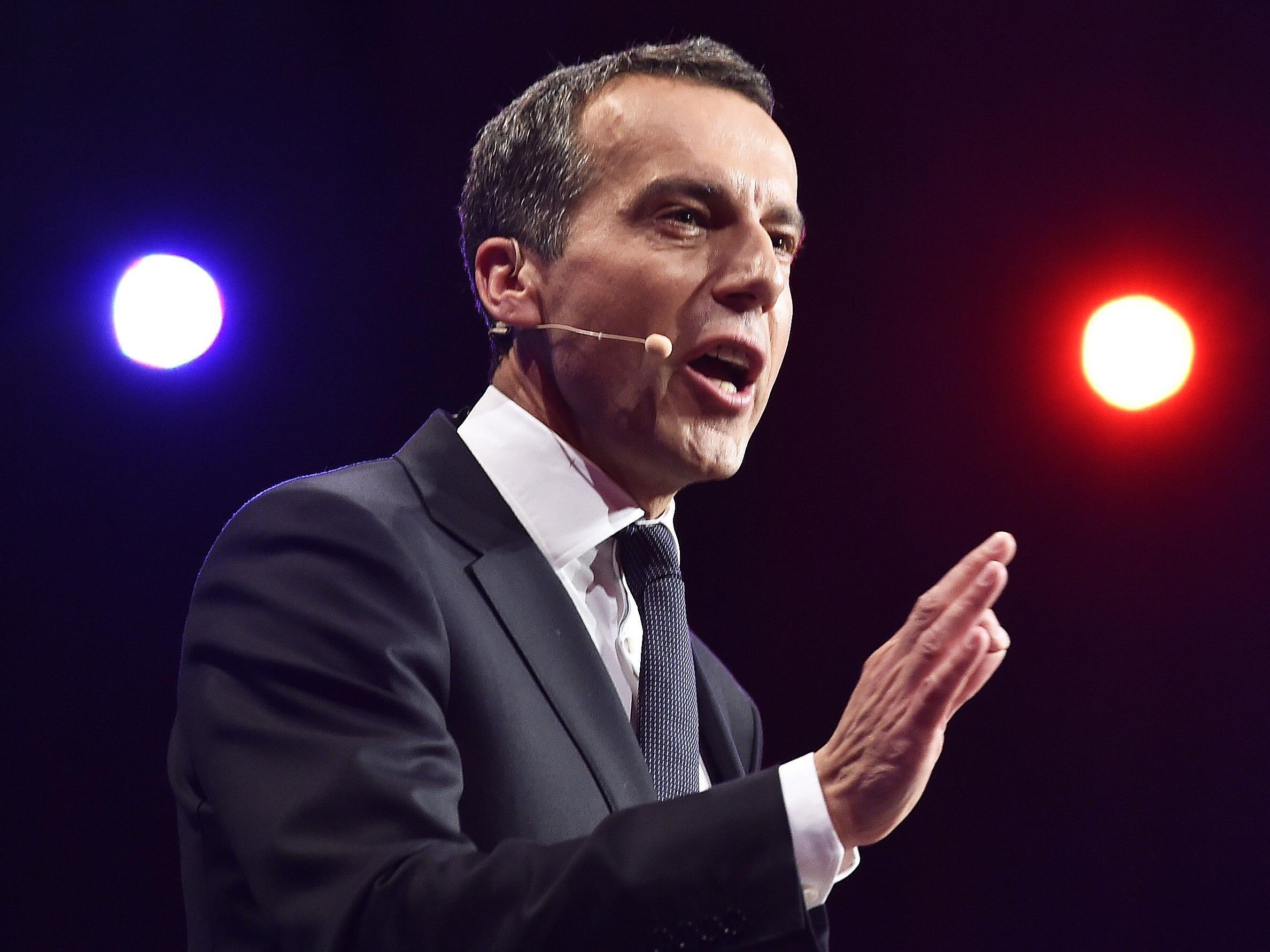 SPÖ-Bundeskanzler Christian Kern.