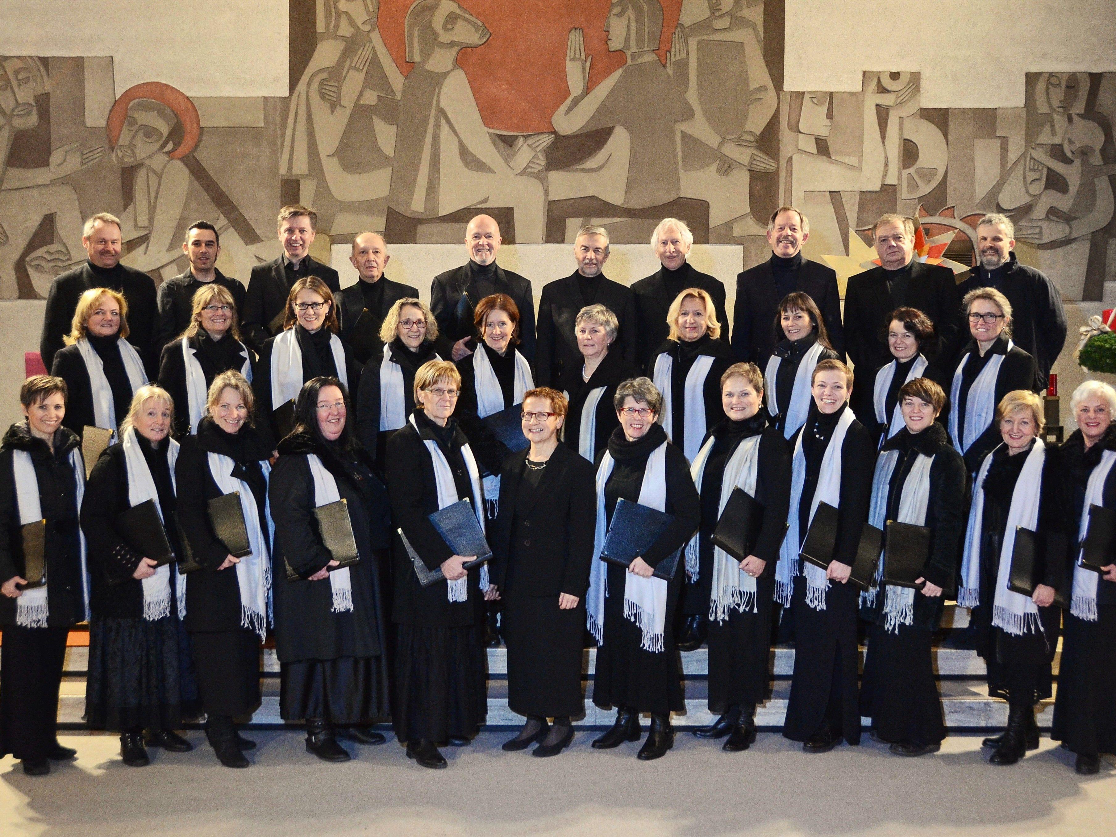 Am 12. November bringt der Kontrapunkt Chor die St. Sebastian Kirche im Oberdorf zum Klingen.