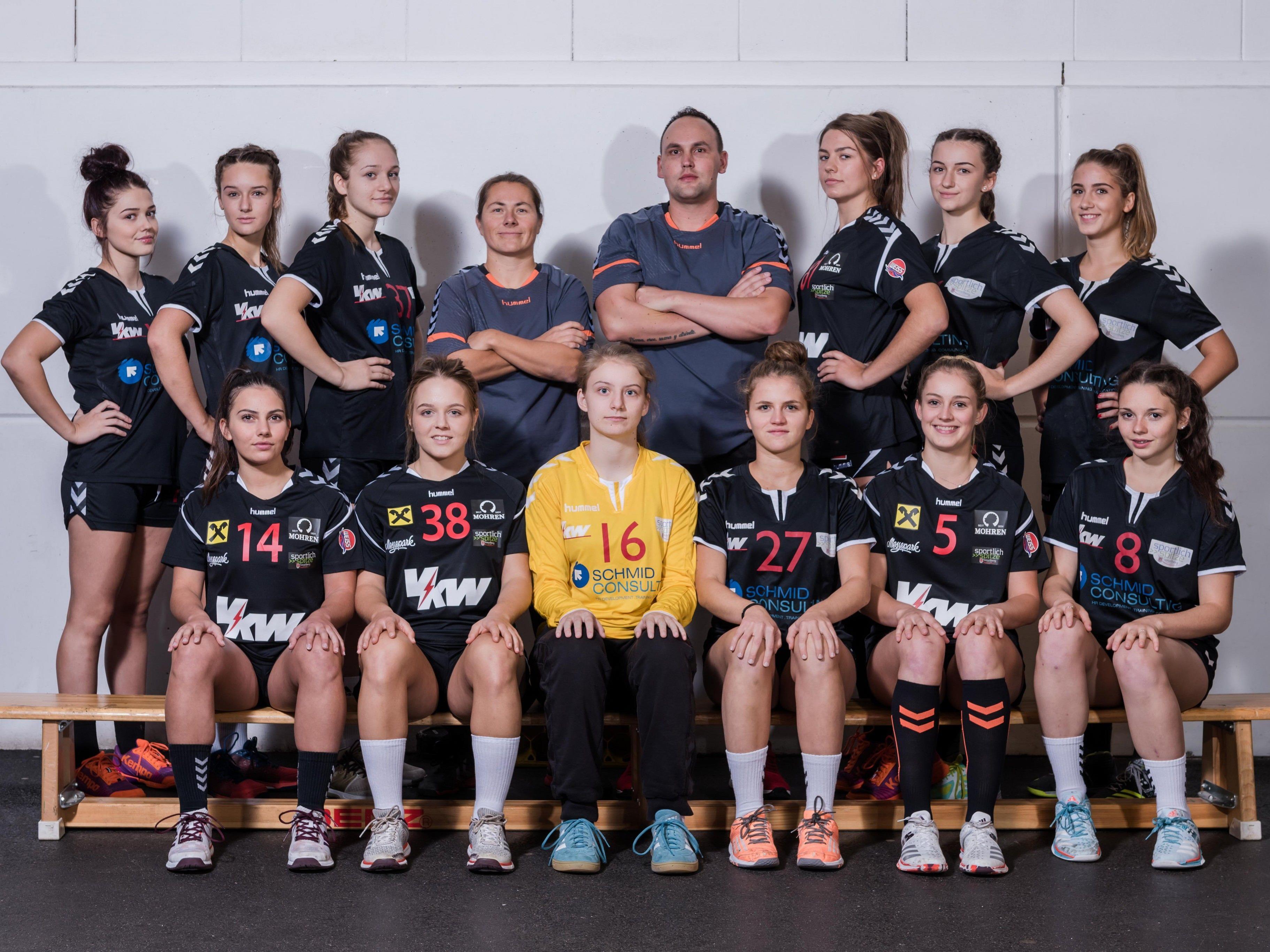 Die U18 des SSV Dornbirn Schoren führt aktuell die Tabelle der österreichischen Meisterschaft an.