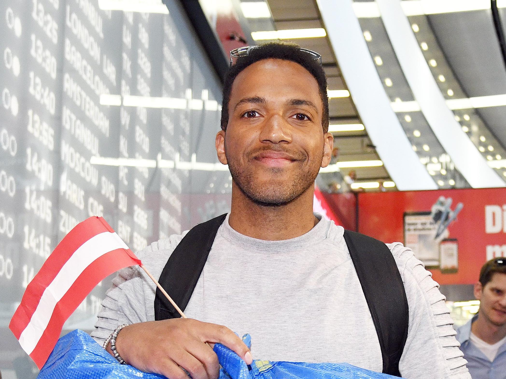 Cesar Sampson tritt beim Oberösterreicherball in Wien auf.