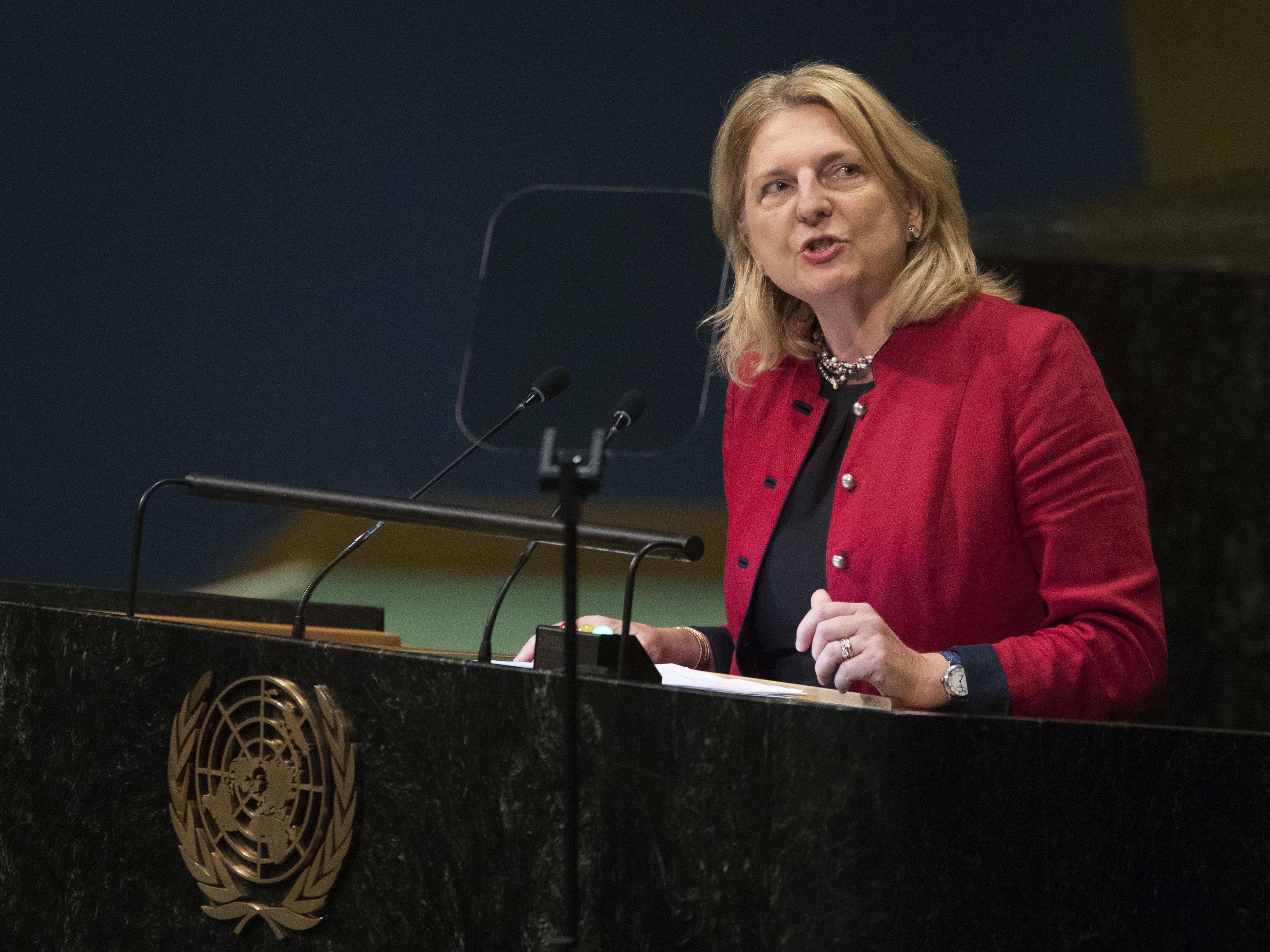 Karin Kneissl sorgte für Aufsehen.