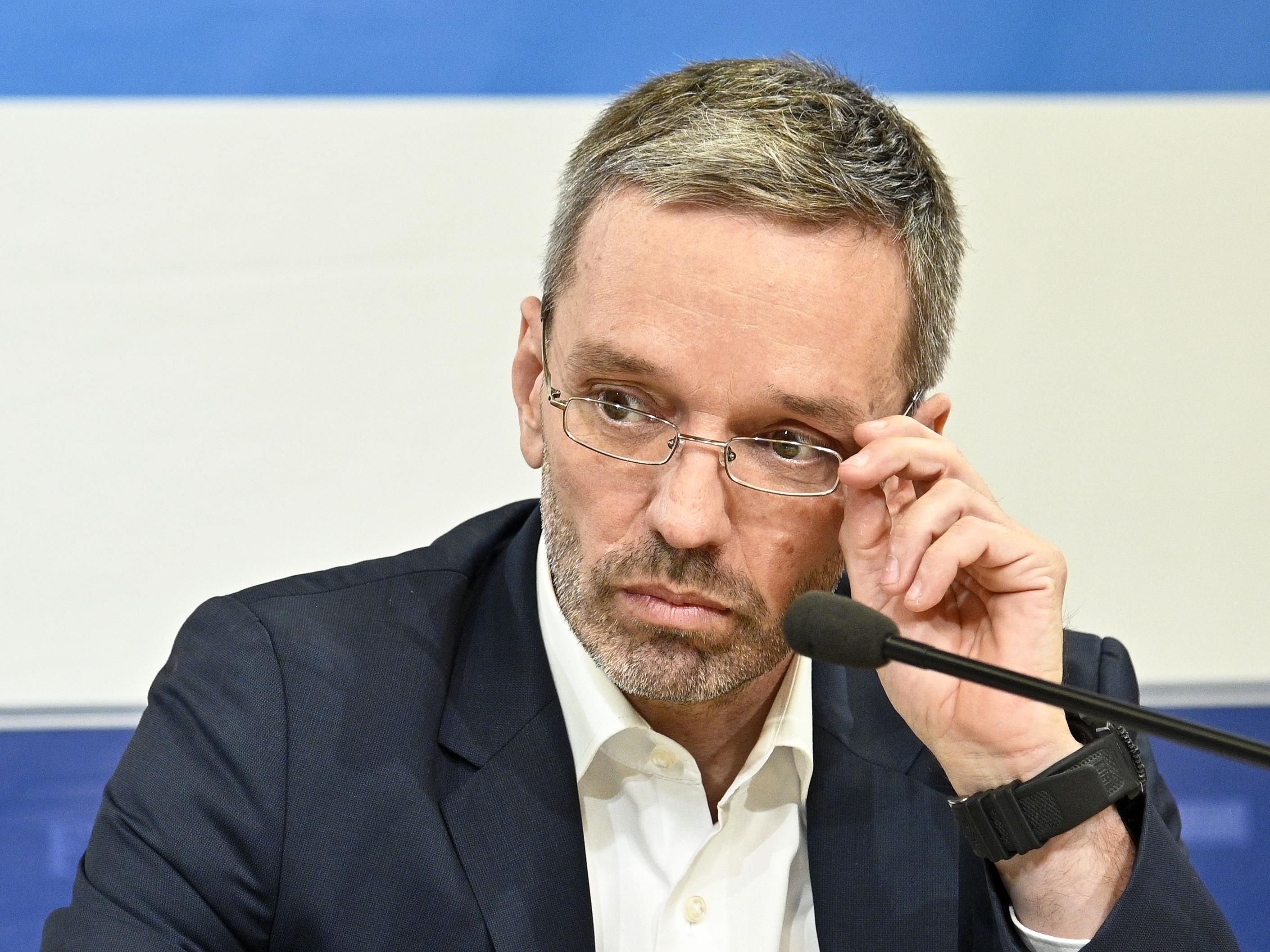 Herbert Kickl will wieder Innenminister werden.