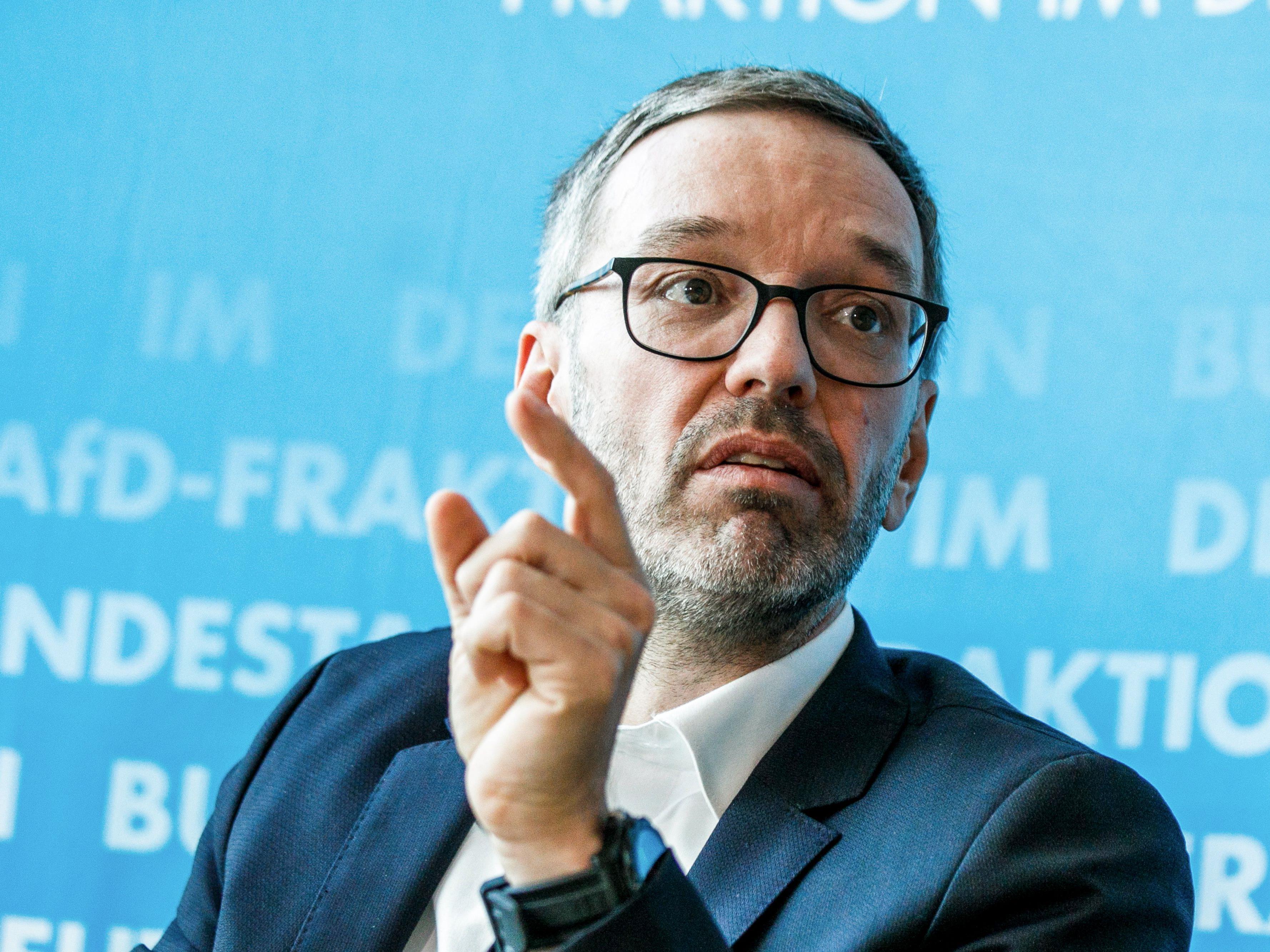 Die Informationen wurden am Rande des Besuches von FPÖ-Klubobmann Herbert Kickl in Berlin publik.
