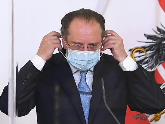 Schallenberg ist ab Mittwoch wieder im Außenministerium.
