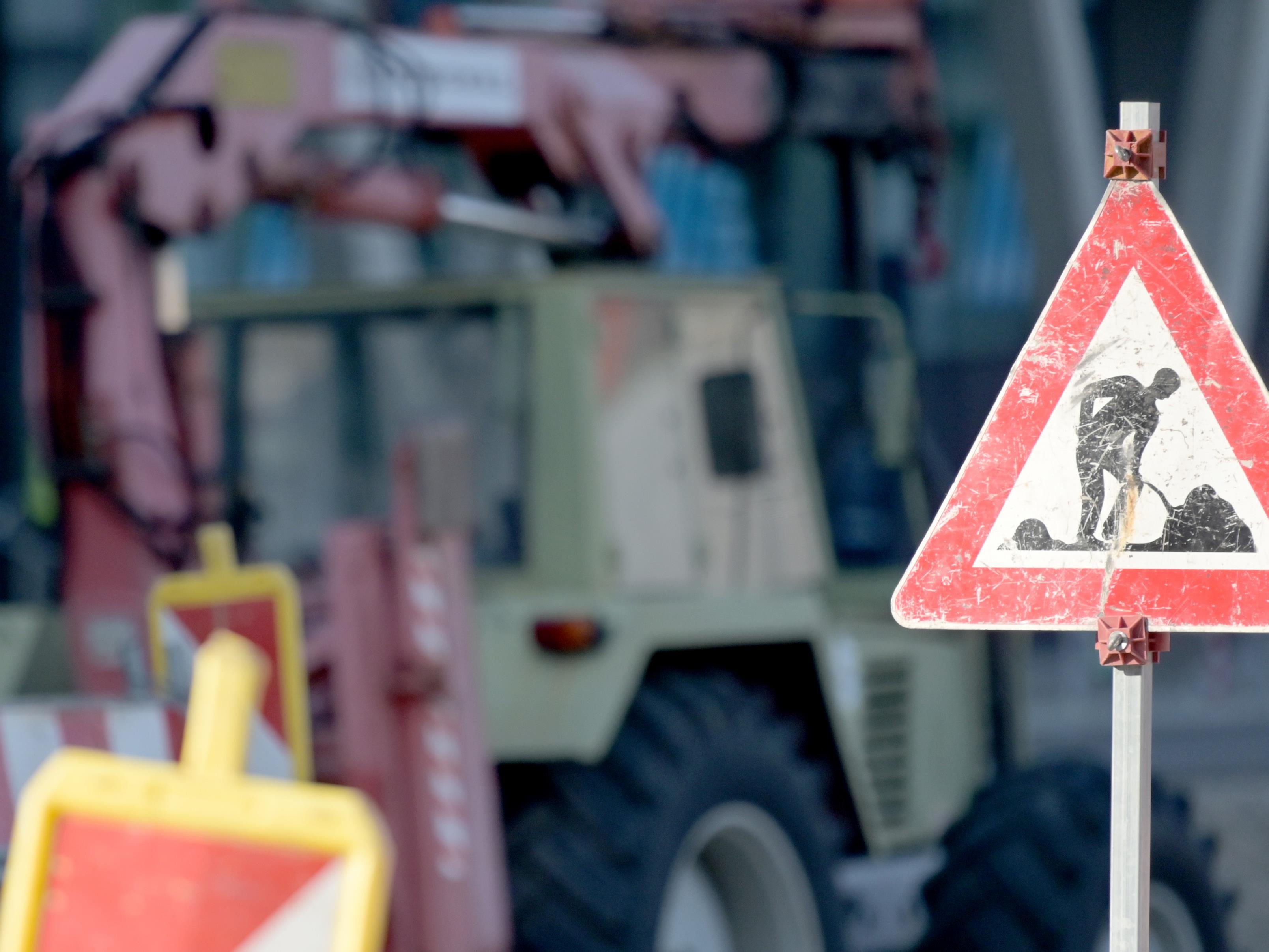 Die Bauarbeiten dauern voraussichtlich bis 6. November.
