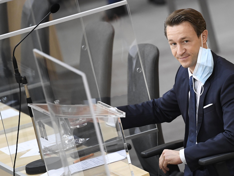 Am Mittwoch wird Blümel seine zweite Budgetrede halten.
