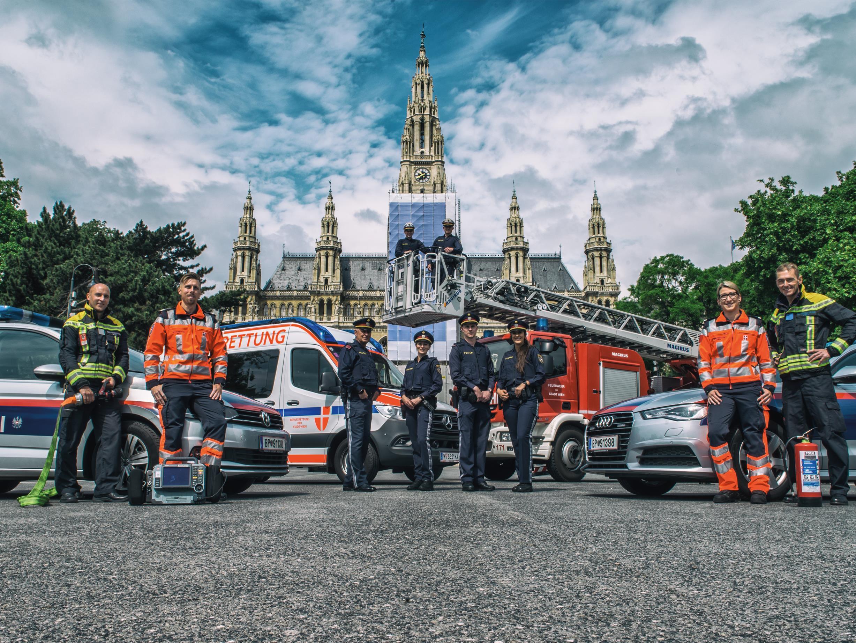 Der Wiener Polizeikalender wurde präsentiert.