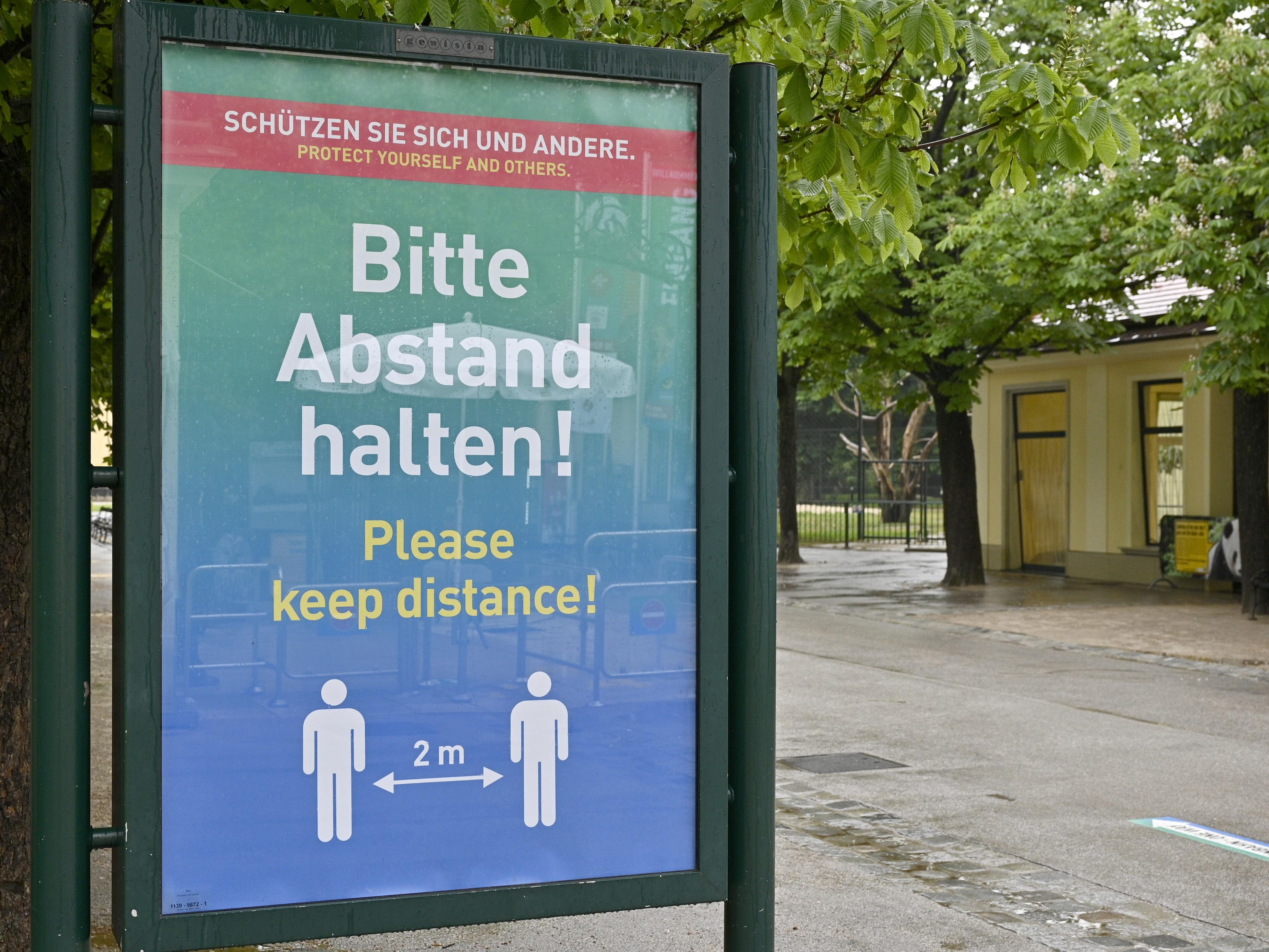 Am Dienstag muss auch der Tiergarten Schönbrunn zusperren.