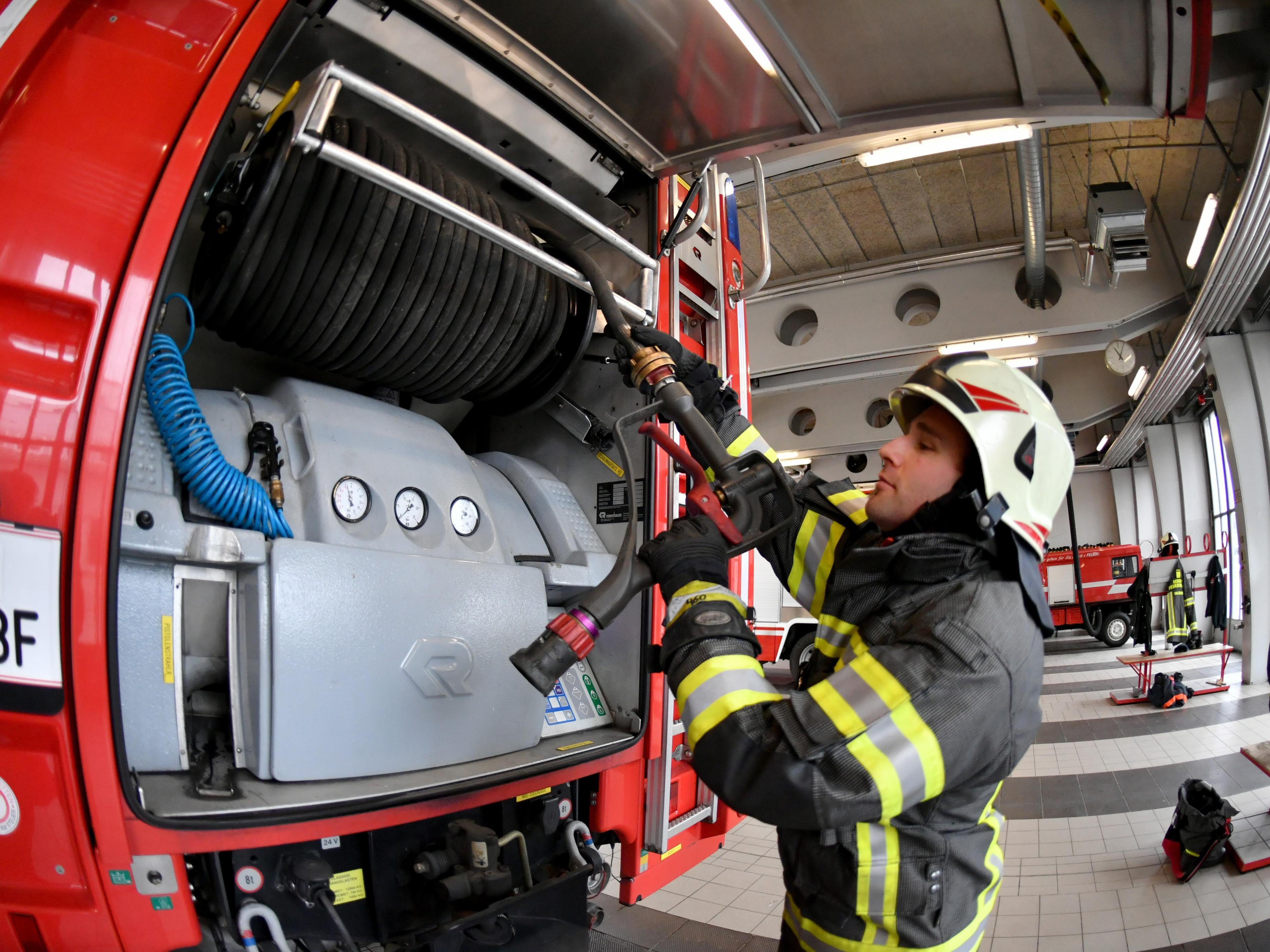 Die Alarmierung sorgte für Schrecksekunden bei den Feuerwehr-Mitgliedern.